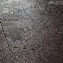 Designfliese_Strukturfliese_Ornament_Designer-Exklusive-Fliesen-Sechseck-schwarz_596